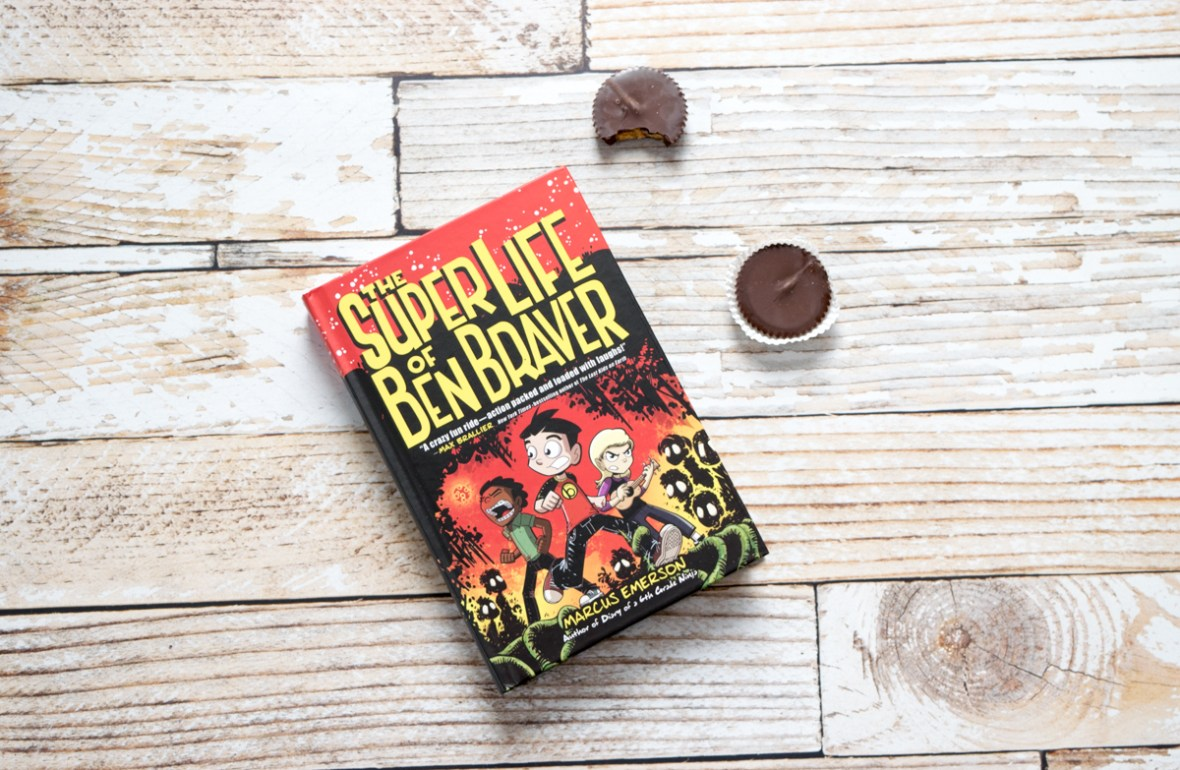 tween book review - The Super Life of Ben Braver #middlegrade