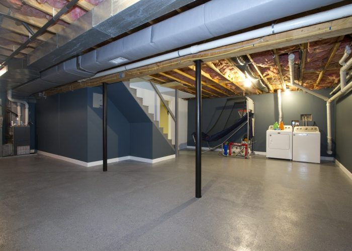 Basement with Laundry