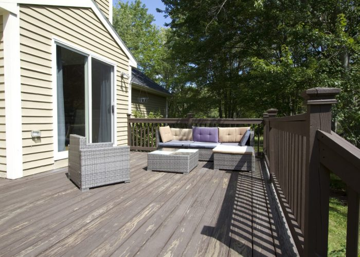 Slider to Back Deck