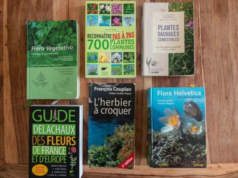 Les meilleurs livres sur lesplantes sauvages comestibles