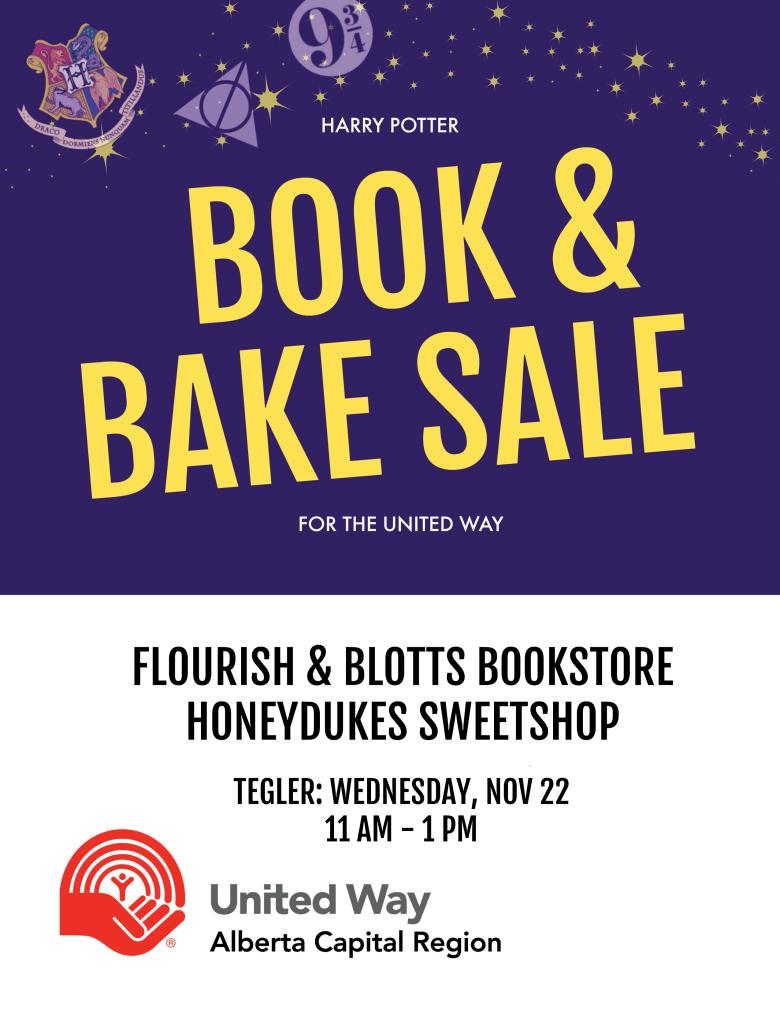 Book & Bake Sale Poster Online