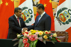 Peru's President Meets Chinese President
