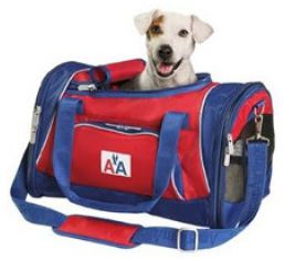 Generally, pets up to 20 pounds can accompany you onto the airplane.