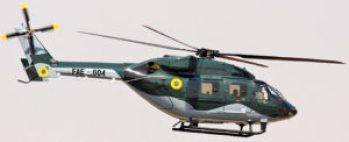 Four of the seven DRUV helicopters purchased in 2008 have crashed.