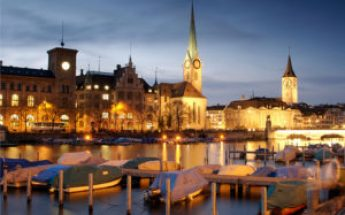 Zurich is rated the top city for quality of life.