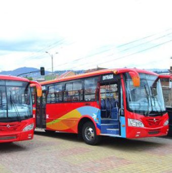 Cuenca bus companies owners say they need newer buses like these.