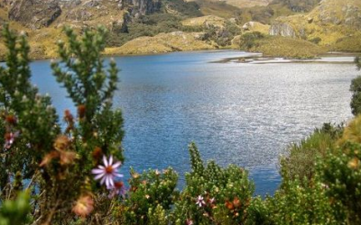Site of 1995 meteorite strike, source of UFO legends, discovered in the Cajas Mountains
