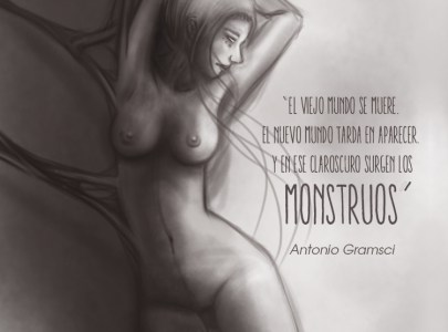Cita ilustrada «Los Monstruos»