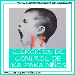 17 ejercicios de control de ira para niños banner