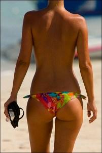 buenos gluteos playa