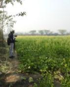 Birders at Dheerpur Wetland Park (Credit: Fizala Tayebulla)