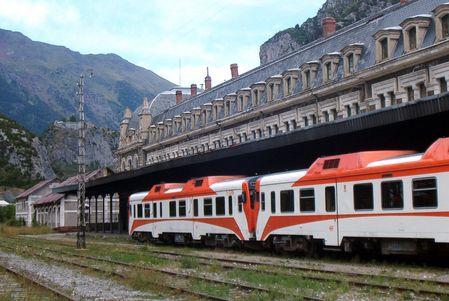 Estación de Canfranc 1