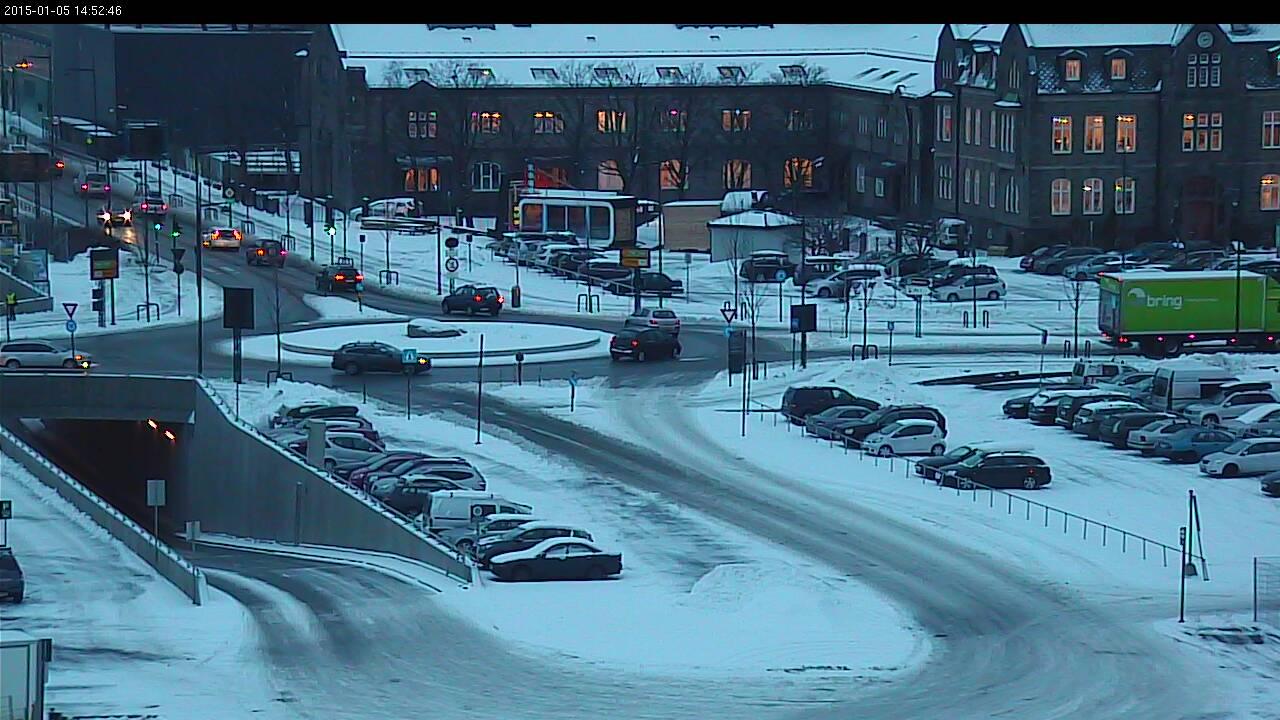 Trondheim - Hurtigrutekaia Por Trondheim Havn