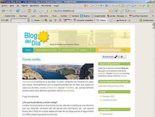 captura pantalla blogdeldia