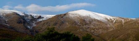 panoramica amanecer sierra nevada