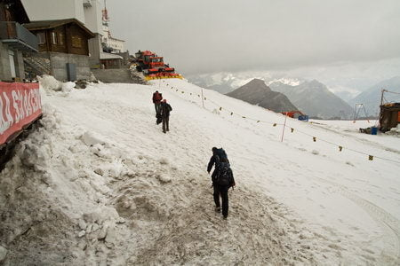 Alpes: Subida al Breithorn (4164m.) fallido 2
