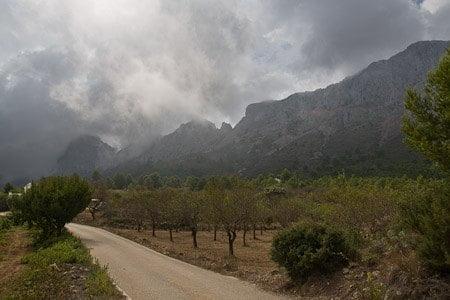 Subida al Forat de la Sierra de Bernia 3