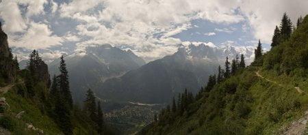 Alpes: Balcón sur y subida al Brevent 2525m 16
