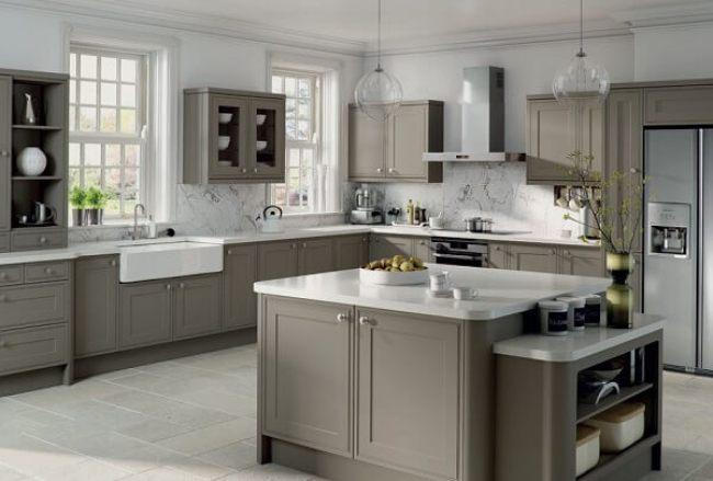 Grey kitchens interior best designs