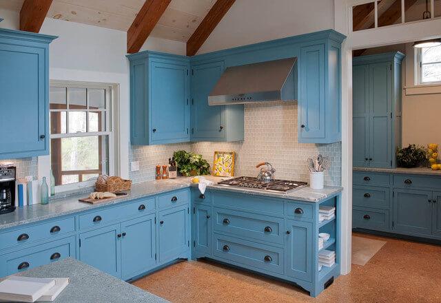 Cottage Blue Kitchen