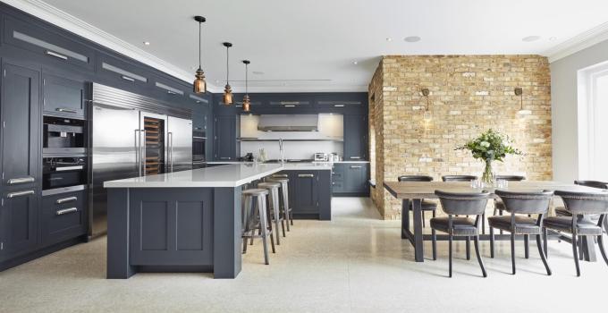 Shades of Gray kitchen design