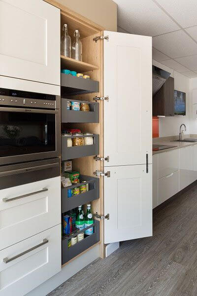 Space Tower Kitchen Cabinet