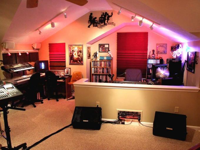 Music studio Bonus Room