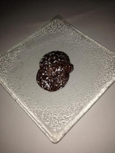 Dark Chocolate Brownies at Grant Grill