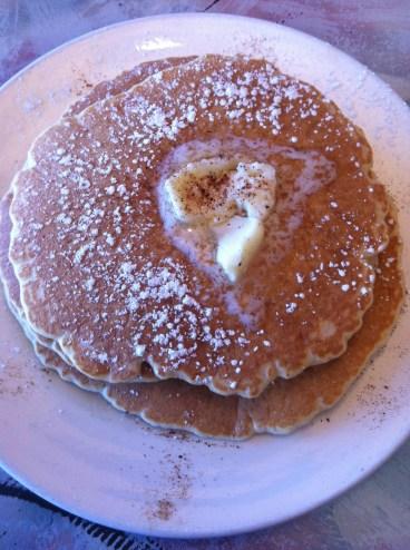 Sweet Potato Pancakes at M'dears Bakery & Bistro