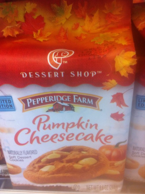 Pepperidge Farms Pumpkin Cheesecake Cookies