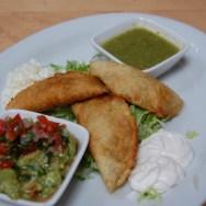 Summer Squash Enchiladas at Loteria Grill