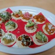 Taco Sampler at Loteria Grill