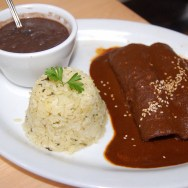 Chicken Enchiladas de Mole (with Mole Poblano)