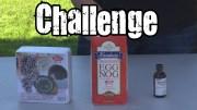 Wasabi Century Eggnog Challenge *Vomit Alert*