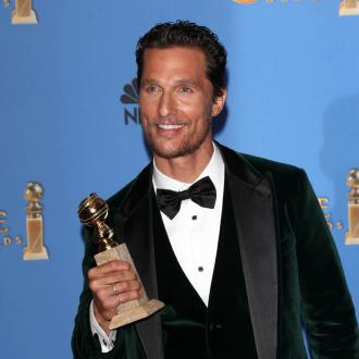 Matthew McConaughey with cufflinks