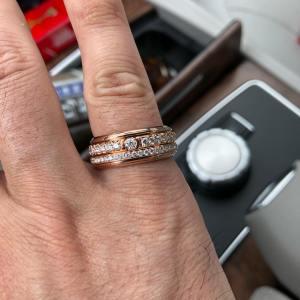 Piaget gold rings for men