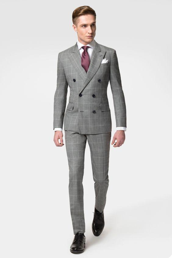 3 Must Have Colors For A Double Breasted Suit | Mens outfits
