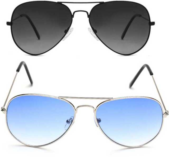 David Martin Aviator Sunglasses Stylish Fake Glasses for Men