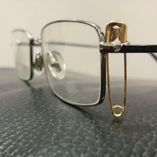 Designer glasses for men. Few years back I broke my glasses and considering the situation spending money on repairs was not possible. As the glasses were expensive and a small nut, bolt, costed a lot to get it fixed. We decided to fix it with a pin, it worked. The glasses could now rest on my face comfortably and I could read and write again with ease. A little pin hanging on the left side would irritate me initially but then I got used to its presence. Today life has come a full circle and I have become a seeker more than a writer. Spirituality drives me and wasteful expenditure in terms of living as well as life style no longer excites me. This pin has helped me a lot. It serves me as a reminder of the wasteful life I lived and also it is a standing testimony of how I stood my ground. I can get a new pair of glasses today but I won't, as this pin is more than just a fix. It's a healer. #lifeisbeautiful