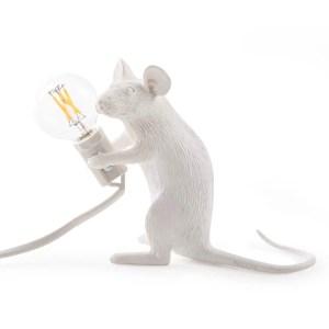 Mouse Lamp Sitting Seletti