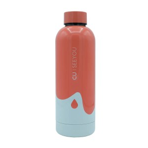 Bottiglia termica Ocean Drop coral CU | SEEYOU