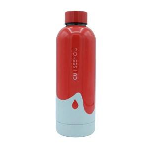 Bottiglia termica Ocean Drop red CU | SEEYOU