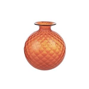 Vaso Arancio Monofiori Balloton 18x20,5