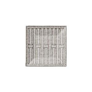 Piattino Quadrato 2 Mosaique Au Platinum