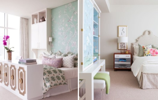 idee de decor apartament cu aspect luxos in stil feminin