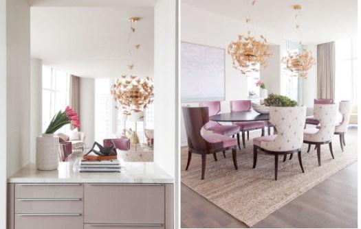 idei de decor apartament in stil feminin