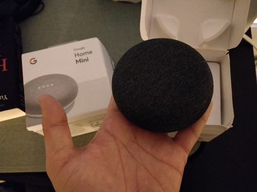 boxă google home mini