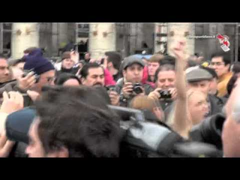 Le femen protesteaza in Vatican