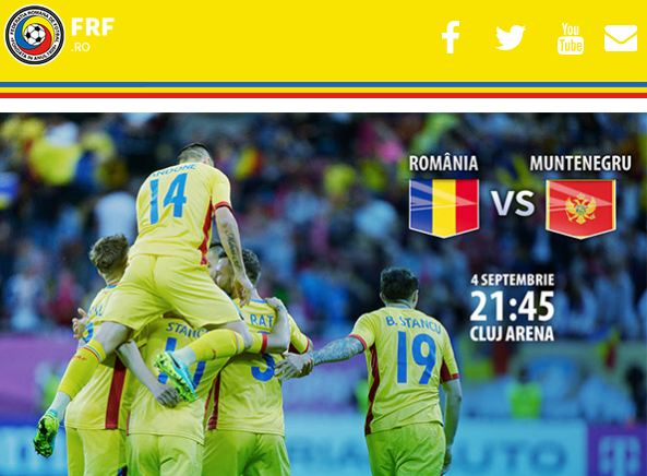 România – Muntenegru