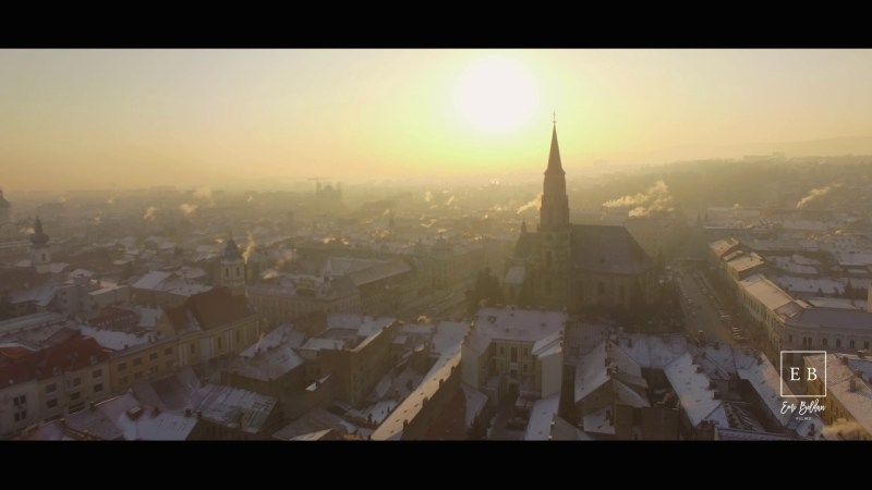 Beauty of Winter in Cluj-Napoca